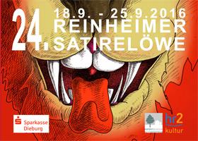 """Nominiert für den """"Reinheimer Satirelöwe"""""""